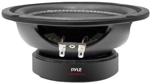 Car Vehicle Subwoofer Audio Speaker - 6.5 Inch Non-Pressed Paper Cone, Black Steel Basket, Dual Voice Coil 4 Ohm Impedance, 600 Watt Power, Foam Surround for Vehicle Stereo Sound System - Pyle PLPW6D