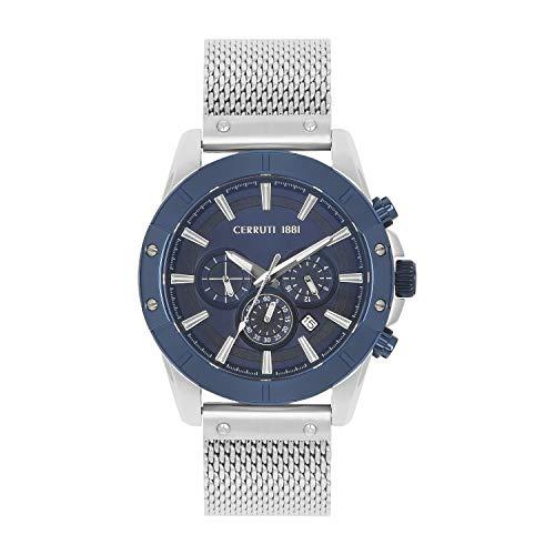 Herren-Armbanduhr Cerruti 1881 FaltuGNANO Stahl Milanaise-Armband CRA27902