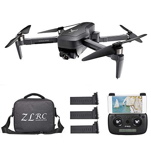 GoolRC SG906 PRO GPS RC Drone con Fotocamera 4K 5G WiFi a 2 Assi Gimbal 25mins Tempo di Volo Brushless Quadcopter Seguimi MV Foto Gesto con Borsa Portatile