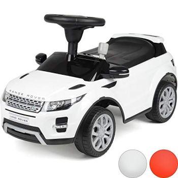 Licensed Range Rover Ride On Car, Kids Foot To Floor, Toddler Evoque SUV, Sound Effects, Under Seat Storage