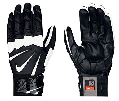 Nike Hyperbeast 2.0 Adult Lineman Gloves (Black/White, 3XL)