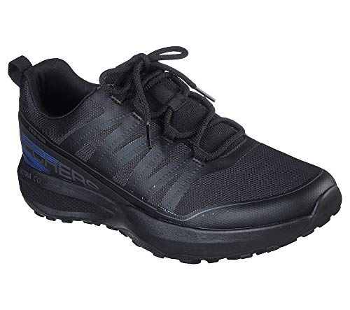 Skechers Men's GO Trail Jackrabbit Black Running Shoe (220017-BBK) (6 UK (7 US))