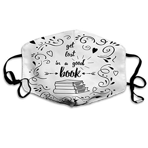Windproof and Printed,Book,Get Lost in a Book Printed Words...