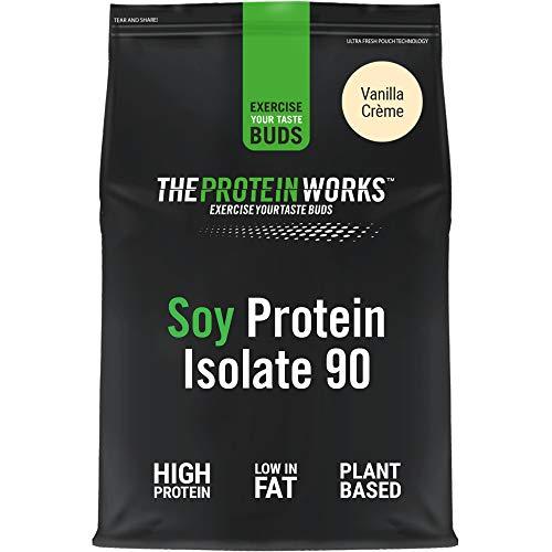Aislado de Proteína de Soja en Polvo | 100% A Base de Plant