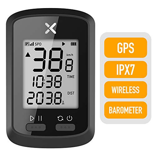 XOSS - G GPS, computer da ciclismo senza fili, tachimetro, contachilometri, tracker, impermeabile,...