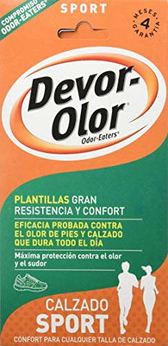 Devor- Olor Super Plantillas, Calzado Trabajo, 1 par de...