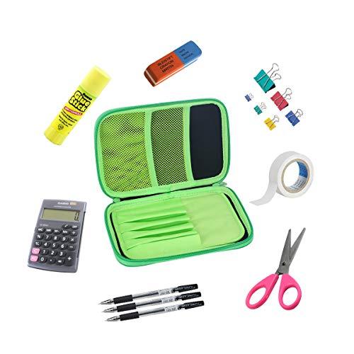 Astuccio per penne a forma di matita, portamatite per tasca a forma di tasca per penna a tracolla...