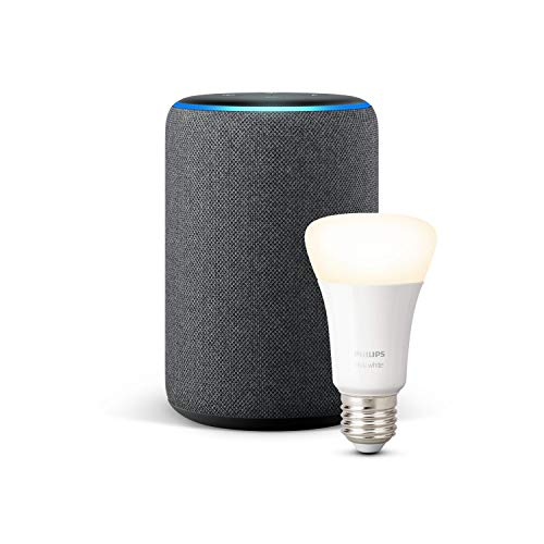 Take advantage of the potential of the Echo Plus at half price with the Philips Hue light bulb as a gift: 75 euros at Amazon