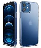 【Ringke】iPhone 12 ケース 6.1 インチ 対応 指紋防止 半透明 スマホケース マット クリア カ……