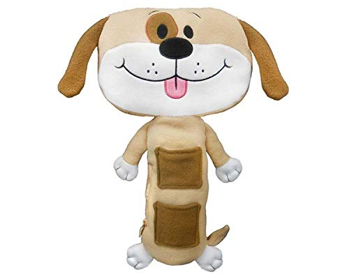 4. Seat Pets Tan Dog Car Seat Toy