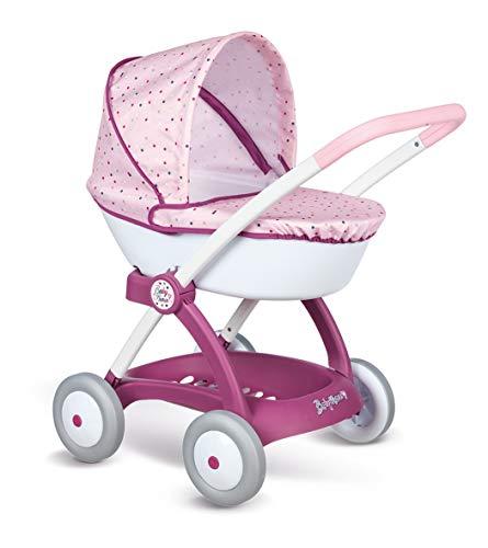 Smoby- Baby Nurse Carrozza Giochi Prima Infanzia, Colore Rosa, 7600254103