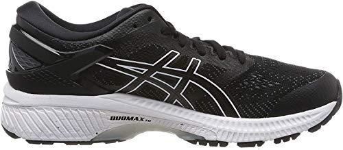 ASICS Women's Gel-Kayano 26 Running Shoes, Black (Black/White 001), 7.5 UK