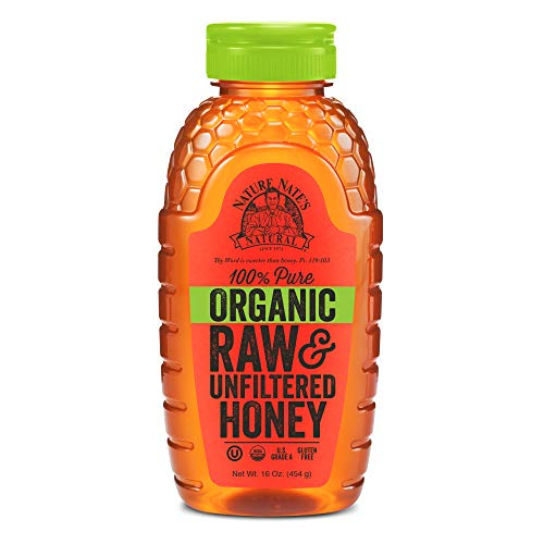 Nature Nate's USDA Certified Organic, Raw & Unfiltered Honey; 16oz.