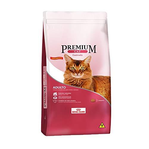 Ração Royal Canin Premium Cat para Gatos Adultos Castrados 10,1kg Royal Canin Raça Adulto