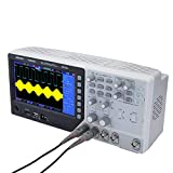 KKmoon Oscilloscope de Signal 2CH Oscilloscope de Stockage Numérique +1 Canal Arbitraire/Fonction Générateur de forme d'onde 100MHz 7'TFT 1GSa /s Générateur de signal 25MHZ 12 bits 4nS /div-80S /div