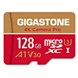Gigastone 128GB Micro SD Card, 4K Video Recording, 4K Game Pro, Nintendo Switch Compatible, R/W up...