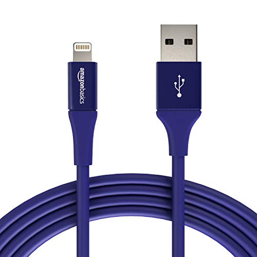 AmazonBasics - Cavo USB Tipo A cpm connettore Lightning, collezione Premium, 3 m, Confezione de 1 - Blu