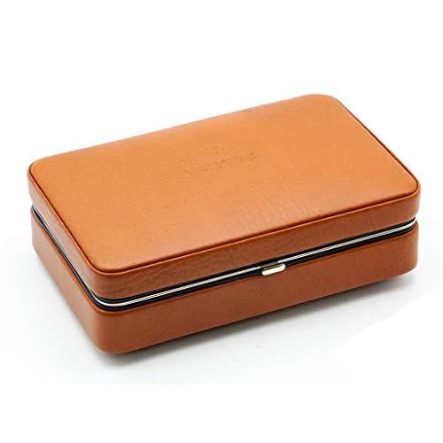 FYYONG Surface en cuir fourrées en bois de cèdre avec coupe cigare...