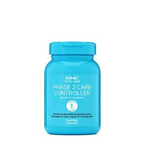 GNC Total Lean Phase 2 Carb Controller, 120 Capsules, Decreases Calorie Impact from Carbohydrates 15 - My Weight Loss Today