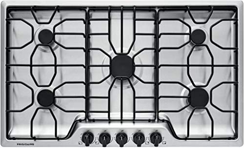 "Frigidaire FFGC3612TS 36"" Gas Cooktop Stainless Steel"