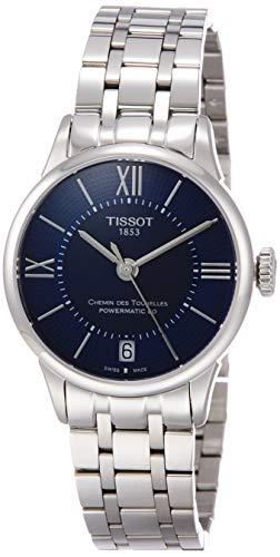 Tissot Damen-Uhren Analog Automatik One Size Edelstahl 87487415