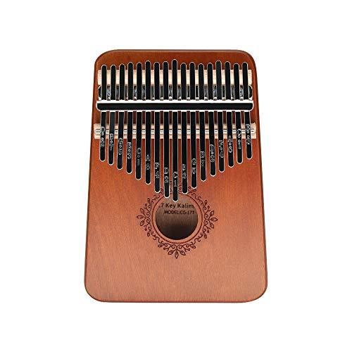 Kalimba Thumb Piano, 17 Key Kalimba Finger Piano with...