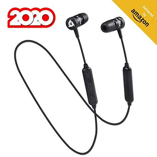 KLIM Fusion Bluetooth Auricolari Wireless - Alta qualità audio + Cuffie Senza Fili resistenti + Con microfono + 5 anni di garanzia + Innovativi: Auricolari In-Ear con memory foam + NOVITÀ 2020