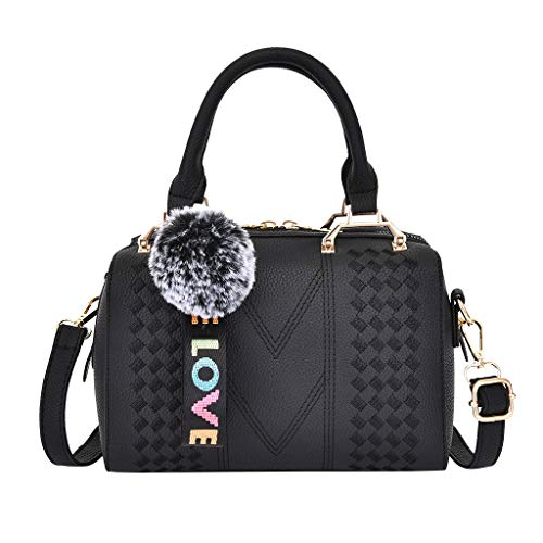 💼 Material: PU--Fashionable and durable. Diffrent ways to carry, you can use the bag as Tote, Shoulder Bag or Crossbody Bag. Back to School Supplies Essentials Off to College Deals 2019-It is a great gift for Girlfriend, Lover, Holiday Gifts, Birthday, Thanksgiving, Christmas, New Year, Valentine's Day etc. It is very suitable for Wedding , party, ball, daily casual wearing, travel, office occasion. Size: 22.5cm(W) X 15cm(H) X 12.5cm(T)/ 8.86inch(H) X5.91inch(W) X 4.92inch(T). 💼 Women Purse Handbags Wallets Bag Set Shoulder Bag Large Tote Bag Top Handle Satchel Wallets for Women Ladies Wallet Purse with Wristlet Strap. 💼 Top Handle Handbag Women Wallet Blocking Party Security Clutch Card Holder Ladies Purse Women Multi Card Organizer Wallet for women Purse Women's Large Capacity Work.