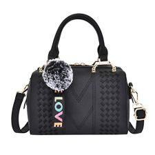 """💼 Material: PU--Fashionable and durable. Diffrent ways to carry, you can use the bag as Tote, Shoulder Bag or Crossbody Bag. Back to School Supplies Essentials Off to College Deals 2019-It is a great gift for Girlfriend, Lover, Holiday Gifts, Birthday, Thanksgiving, Christmas, New Year, Valentine's Day etc. It is very suitable for Wedding , party, ball, daily casual wearing, travel, office occasion. Size: 27cm(L)x10cm(W)x22cm(H)/10.62(L)x3.39(W)x8.66(H)"""". 💼 You can carry it as a single-shoulder bag or backpack as there is a removable short shoulder strap. Back Zipper Closure, Effective anti-theft design. Water resistant backpack keeps your items from not easily getting wet. 💼 If this item doesn't meet your expectations, please do not hesitate to inform us, and our service team will provide best solution. For quality problems or defective items, there are full refunds or free replacement for you."""