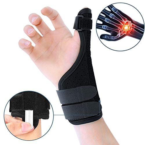 ZOUYUE Handgelenkschiene mit Daumenschiene, flexibel Daumenbandage Handgelenkbandage für Daumengelenk