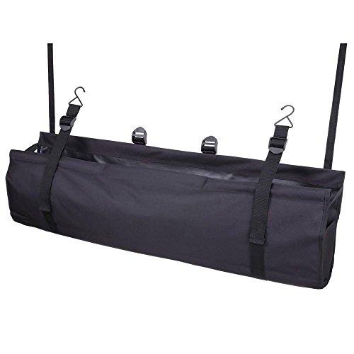 ナポレックス 車用 収納バッグ ラゲッジルームバッグ ブラック 大容量 ミニバンやワゴンに最適 汎用 JK-69