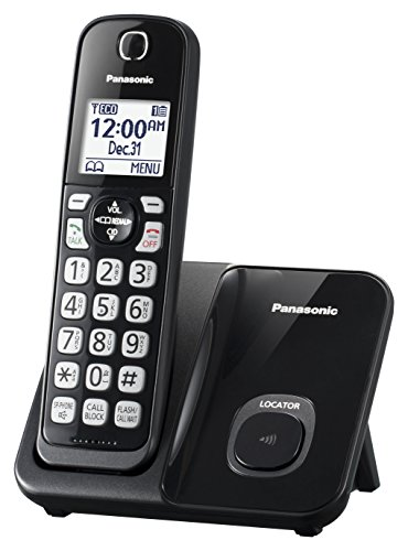 Panasonic Expandable Cordless Phone System with...