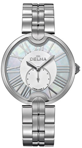 Delma - Damenuhr Analog Quarz Metallarmband - 407038