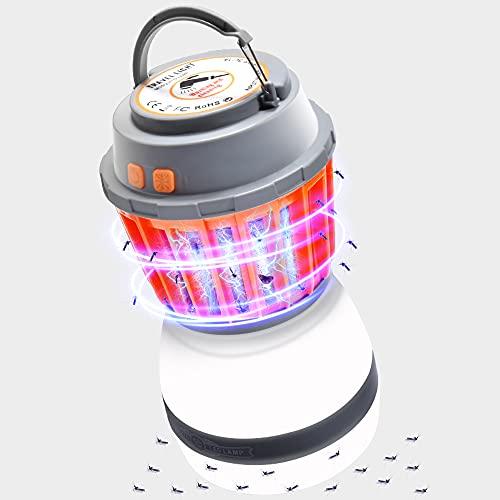 Camping Lantern 2in1 Solar Light & Outdoor Mosquito Repellent - Waterproof