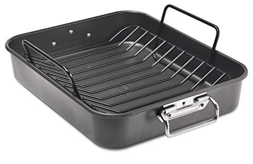KitchenAid Aluminized Steel Roaster Pan, 16 Inch