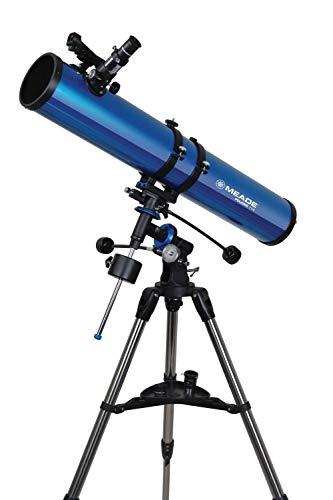 Telescopio Reflector Meade Polaris 114 EQ Motorizado
