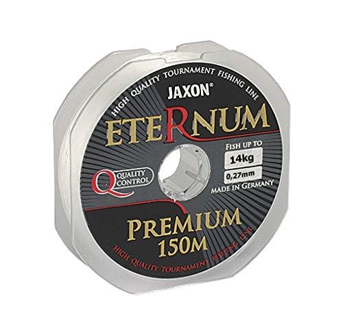 Jaxon Eternum Premium - Hilo de Pesca (150 m, 0,10-0,45 mm), 0,22mm / 9kg