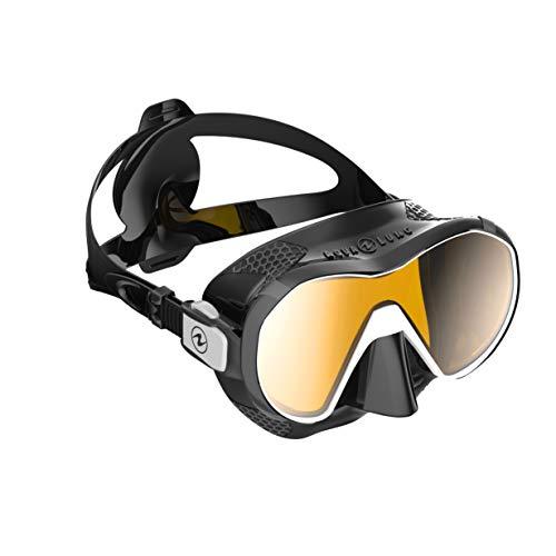 Aqua Lung Plazma Scuba Diving Mask (Black Silicone Skirt)