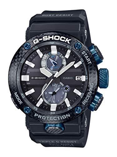 Casio Herren Digital Quarz Uhr mit Harz Armband GWR-B1000-1A1ER