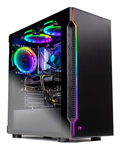 Skytech Shadow Gaming Computer PC Desktop  Intel Core i5 9400F 2.9GHz, GTX 1660 6G, 500GB SSD, 8GB DDR4 3000MHz, RGB Fans, Windows 10 Home 64-bit, 802.11AC Wi-Fi