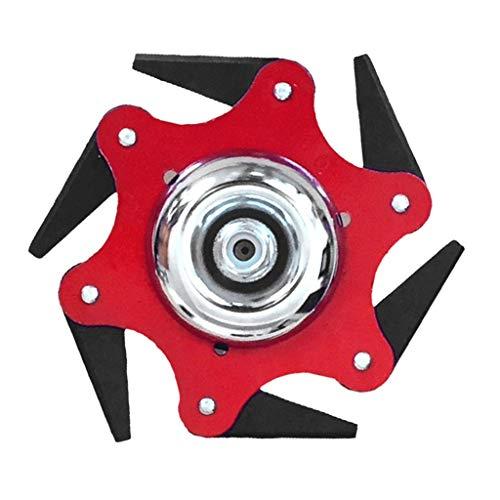 Minshao(TM) Trimmer Head,Tagliaerba Universale a Lame in Metallo 6 Denti Spazzola per Denti 65Mn...