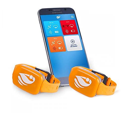 Bracelet de sécurité Piscine No stress avec Application Smartphone Kit 2