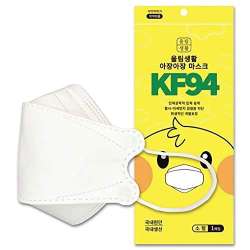 アジャンアジャン KF94 マスク 小型 25枚 立体構造 個別包装 韓国製