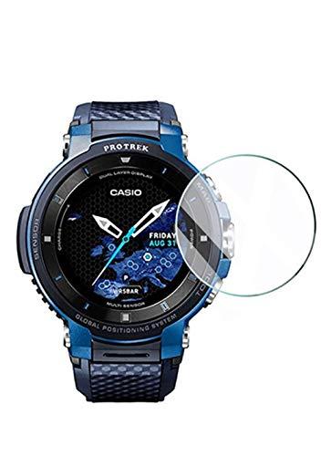 Maxku PRO TREK Smart WSD-F30 ガラスフィルム 日本旭硝子素材採用 高透過率 薄型 硬度9H 飛散防止処理 2.5...