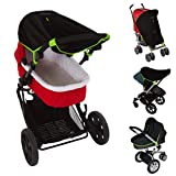 Stroller Sun Cover (0-6m)   Baby SunShade and Blackout Blind for...