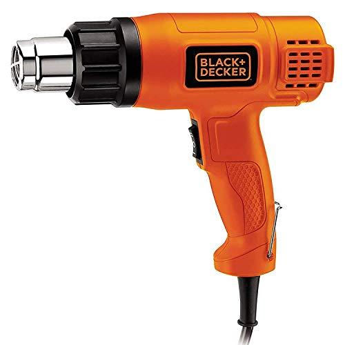 BLACKDECKER KX1800 1800W Dual Temperature 2 Speed Heat Gun (Orange and Black)