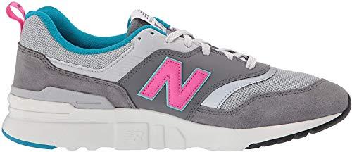 New Balance Men's 997H V1 Sneaker, Castlerock/Peony, 10.5 D US