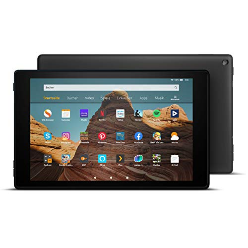 Das neue FireHD10-Tablet│10,1Zoll großes FullHD-Display (1080p), 32 GB, Schwarz mit Spezialangeboten