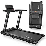 Folding Treadmill Exerciser Foldable Walk Running Machine Portable Treadmills for Home and...