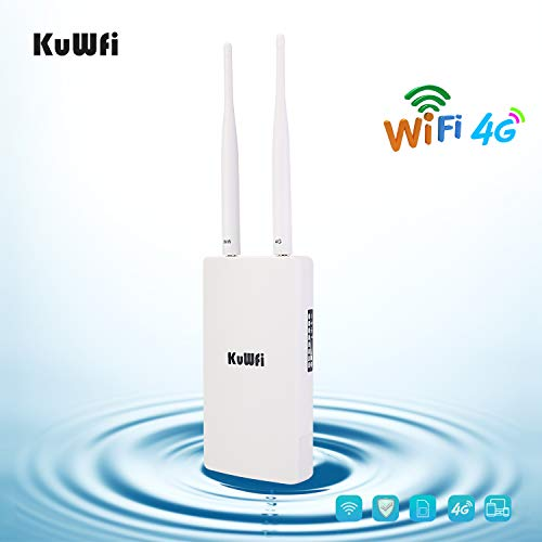 4G Router LTE, KuWFi 150Mbps CAT4 3G 4G LTE Router...